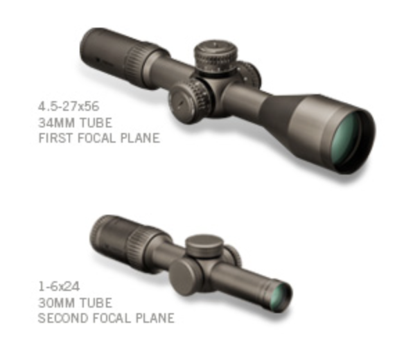 3 – First and Second Focal Plane Scopes