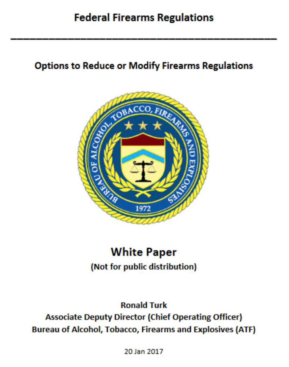 ATF claims Procedures Act exemption for ammunition ban notice that is proposed